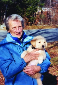 Audrey Noreen Koller with 8-week-old  Jason in 2000.