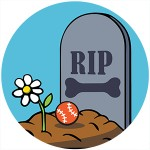 doggy tombstone