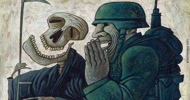 War Secrets, laughing skeleton & soldier