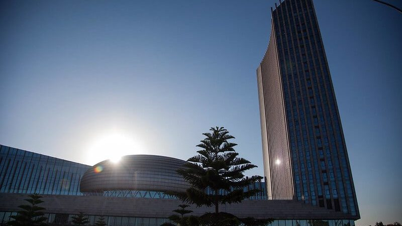 photo of African Union headquarters