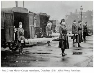 Battling the flue pandemic 1918